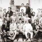 Victoriano Huerta y gabinete