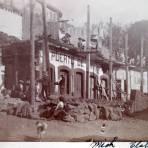 Construccion de La tienda El puerto de Veracruz.