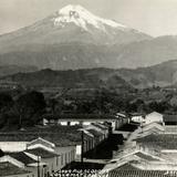El Pico de Orizaba desde Coscomatepec