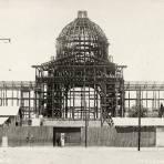 Construcción del Palacio Legislativo (hoy, Monumento a la Revolución)