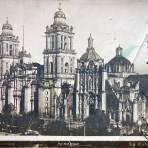La Catedral por el Fotógrafo Abel Briquet ( Circulada el 8 de Septiembre de 1905 ).