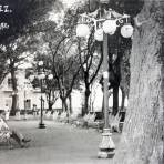 Parque Juarez ( Circulada el 19 de Mayo de 1926 ).
