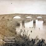Puente sobre el Rio Lerma.