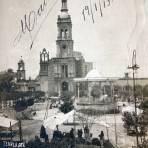 Templo del S del Hospital ( Circulada el 19 de Enero de 1913 ).