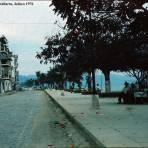 Escena callejera de Puerto Vallarta, Jalisco 1976 .
