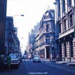 Escena callejera  Ciudad de México 1967.