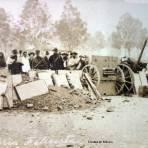Artilleria Felicista durante La Decena Trágica Febrero de (1913)