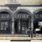 Tienda La Sorpresa ( Circulada el 3 de Octubre de 1909 ).
