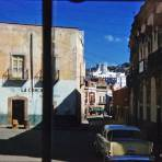 Escena callejera Guanajuato 1958.