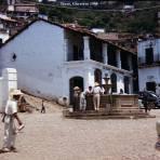Escena callejera  de Taxco Guerrero 1958.