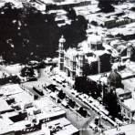 Vista aerea de La Villa de Guadalupe.