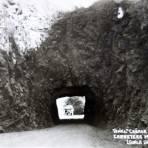 Tunel canada del Zopilote Carretera Mexico-Acapulco.