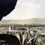 Panorama desde las penas del cerro.