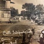 Calle Independencia en 1940