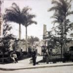 Parque Santa Lucia ( Circulada el 26 de Junio de 1919 ).