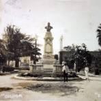 Jardin Juarez ( Circulada el 22 de Junio de 1922 ).