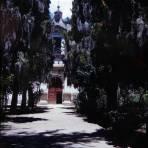 Atrio de La Iglesia de Tepotzotlán, México 1946
