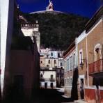 La estatua del Pipila Guanajuato 1946.