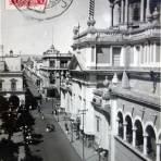 Calle Morelos ( Circulada el 3 de Abril de 1923 ).