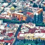 El bello centro histórico de la ciudad