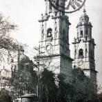 La Catedral Por el Fotógrafo Hugo Brehme ( Circulada el 31 de Mayo de 1926 ).