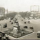 Monumento a Carlos IV y Paseo de la Reforma