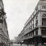 Avenida 5 de Mayo y tienda La Palestina