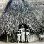 Casa de Indios en Metlac Veracruz Por  Hugo Brehme  ( Circulada el 9 de Septiembre de 1919 ).