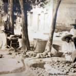 Dia del mercado ( Circulada el 15 de Abril de 1935 ).