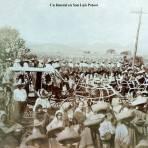 Un funeral en San Luis Potosí
