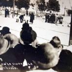 Felicistas en La Ciudadela divididos por La Calle de Tres Guerras durante La Decena Trágica Febrero de (1913)