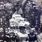 Recepcion de La Pila Bautismal de Hidalgo Fiestas del Centenario ( Sep-1910 ) por el Fotógrafo Fernando Kososky.
