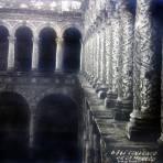 Convento de La Merced por el Fotógrafo Hugo Brehme