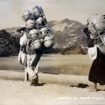 Tipos Mexicanos vendedores de ollas.