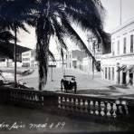Escena callejera ( Circulada el 22 de Octubre de 1935 ).