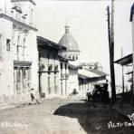 Calle y Teatro Hidalgo .