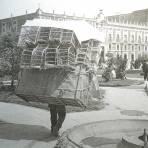 Tipos Mexicanos cargador de jaulas para gallos de pelea ( Fechada en 1922 ).