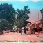 Jardin y Portal Morelos.