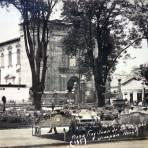 La Plaza Fray Juan de San Miguel.
