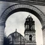 La Iglesia de Tlalpujahua de Rayón, Michoacán.