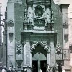 La Iglesia de Nino Perdido Por el Fotógrafo Hugo Brehme .