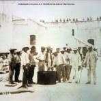 Alimentando a los presos en el Casttillo de San Juan de Ulua Veracruz