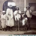 Tipos Mexicanos una familia tarahumara. ( Circulada el 22 de Noviembre de 1926 ).