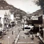 Calle Juarez. ( Circulada el 22 de Diciembre de 1942 ).