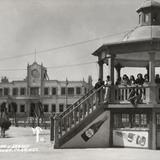 Plaza principal y palacio municipal