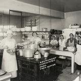 Cocineras en el restaurante Chapultepec