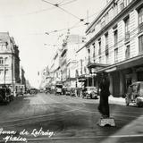 Agente de tránsito en Calle San Juan de Letrán