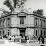 Escuela secundaria en esquina de Ciprés y San Cosme (circa 1975)