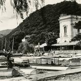 Botes en el lago de Chapala