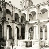 Patio del ex convento de Santo Domingo